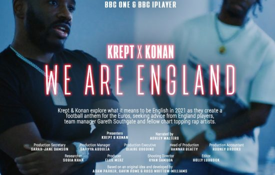 Krept and Konan We Are England 'Ole'  (2021) - Copyist & Music Preparation